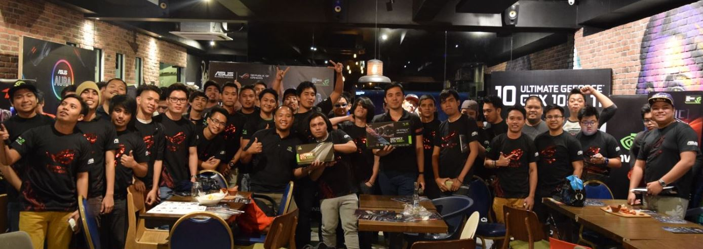 ASUS honors fans with the first ROG-NVIDIA fan gathering