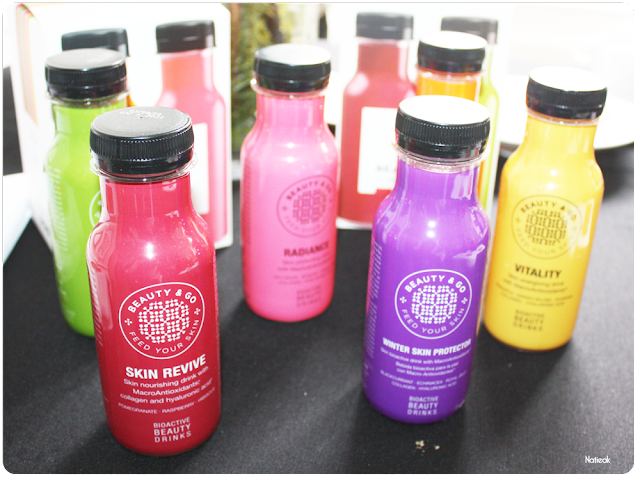 boissons de Beauty and go