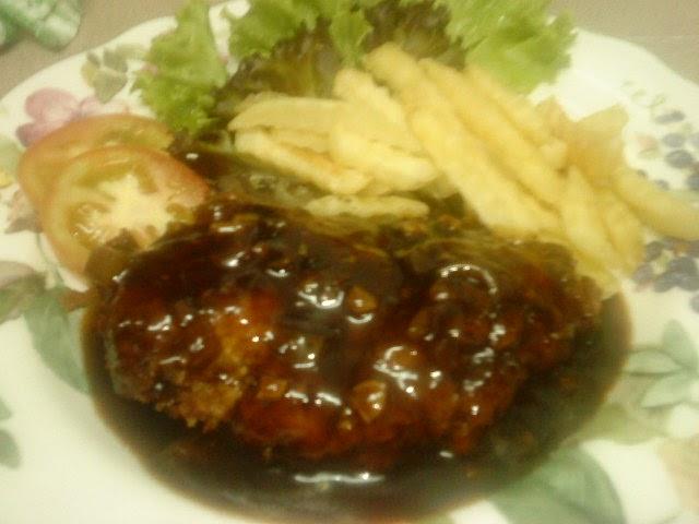 Resepi Chicken Chop Black Pepper Azie Kitchen - CRV Turbin