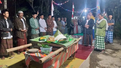 Dusun Manisjangan Desa Seren, Gelar Malam Satu Suro Dengan Tirakatan