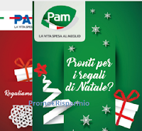 Logo Pam Panorama ''Dolce Dolce Natale'' : vinci gratis buoni spesa fino a 1000€