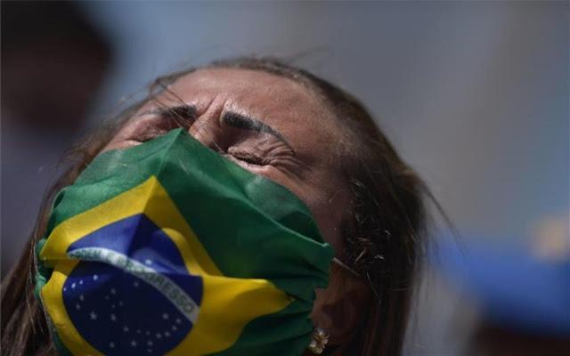 El coronavirus no cede en Brasil y el hijo menor de Bolsonaro es uno de los contagiados