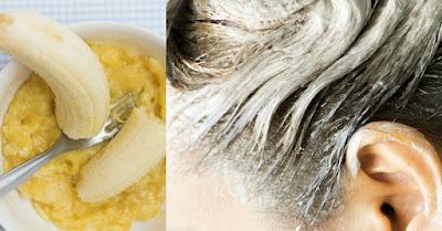 Conditionneur à la banane fait maison, répare même les cheveux les plus abîmés!