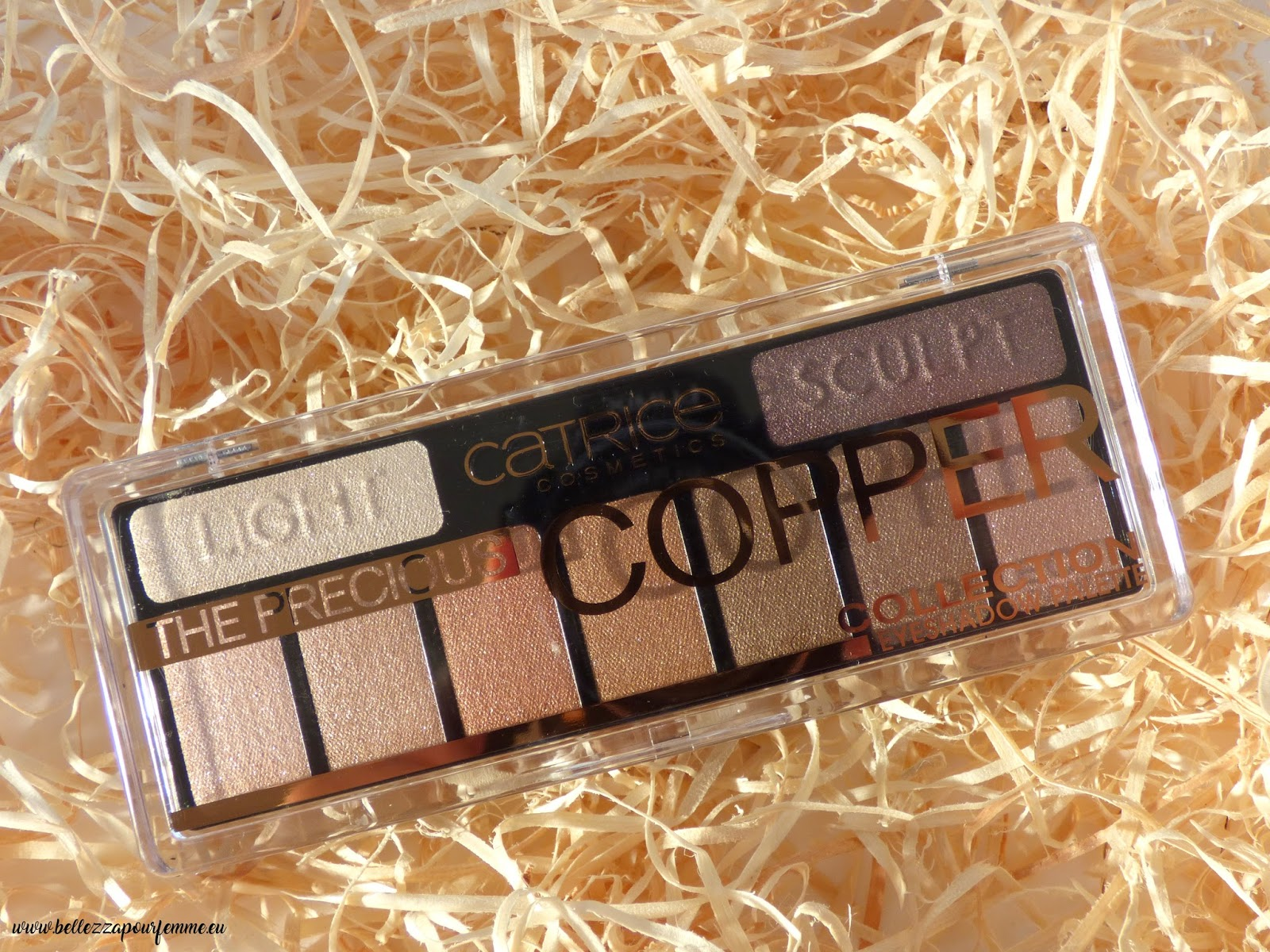 Review CATRICE The Precious COPPER Eyeshadow Palette