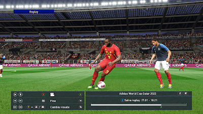 PES 2019 Ballpack Adias World Cup 2022 Qatar by Vito