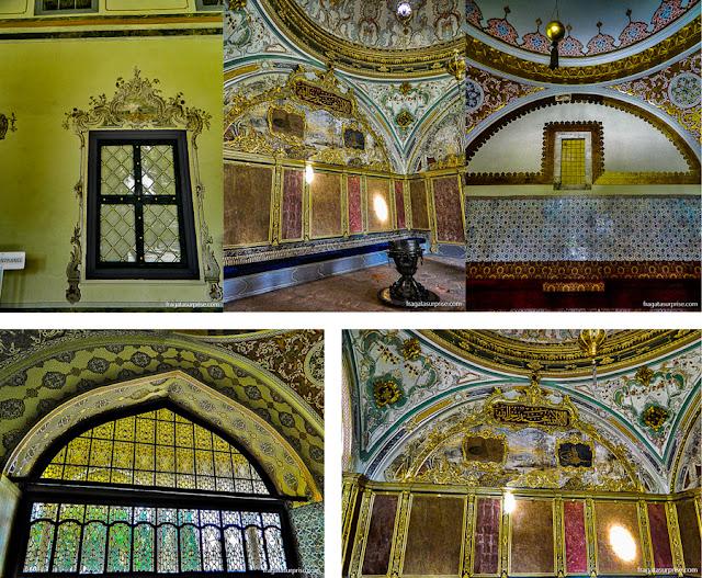 Antessala do Harém do Palácio de Topkápi, em Istambul