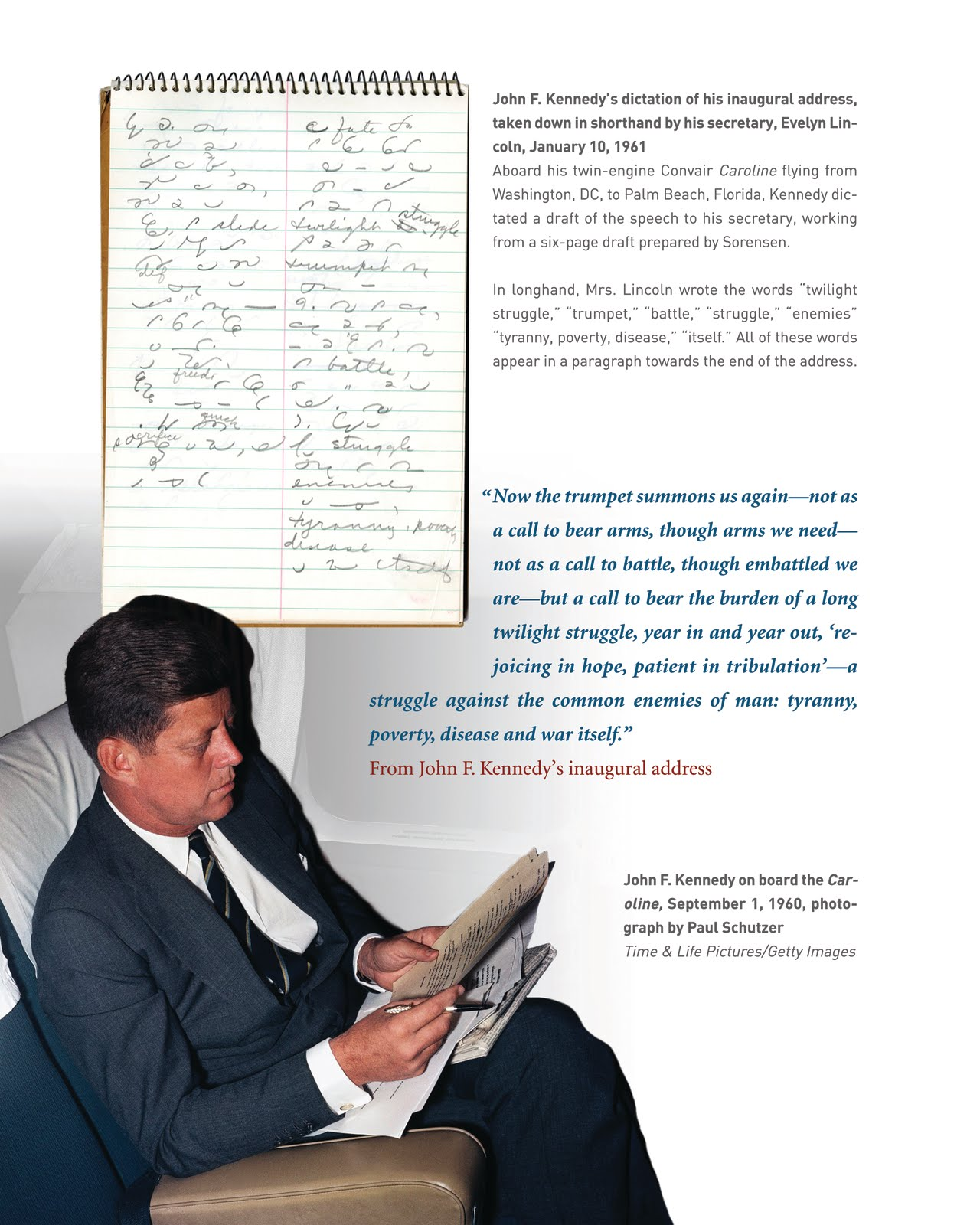 Kennedydetail History Of John F Kennedy S Inaugural Address