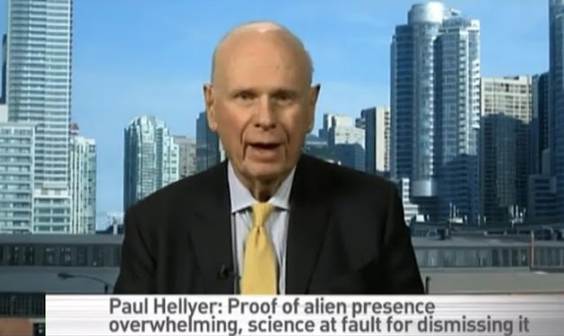 Paul Hellyer aliens