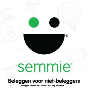 Semmie beleggen 15 euro cadeau bij lid worden. Ontvang 15 euro gratis!