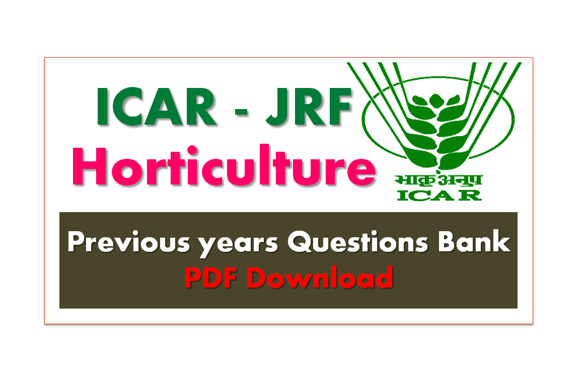Icar Previous Year Question Papers Pdf