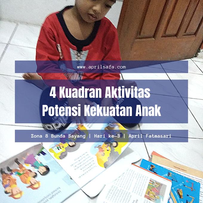 4 Kuadran Aktivitas Potensi Kekuatan Anak