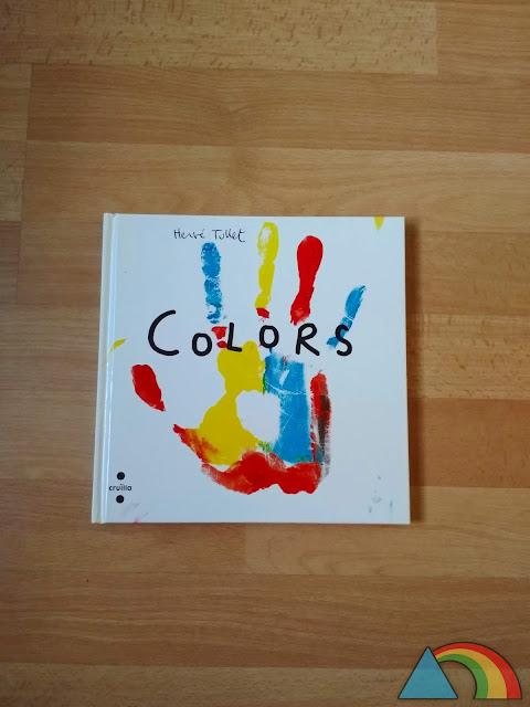 """Portada del libro """"Colores"""" de Hervé Tullet"""