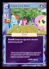 My Little Pony Apple Juice Break The Crystal Games CCG Card