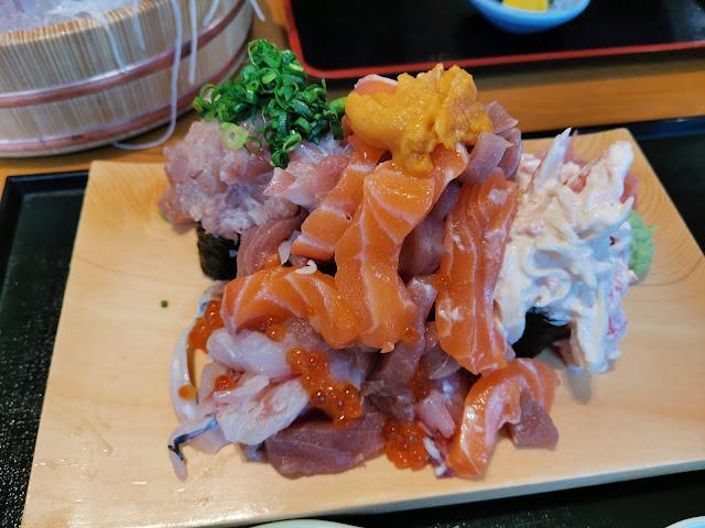 溢れ寿司!大庄水産長崎駅前店のメニューのご紹介