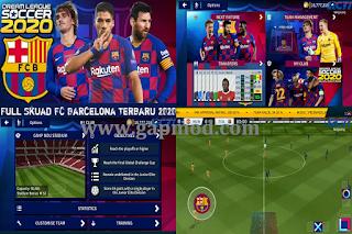 DLS 2020 Mod Full Transfer Skuad FC Barcelona 2020/21