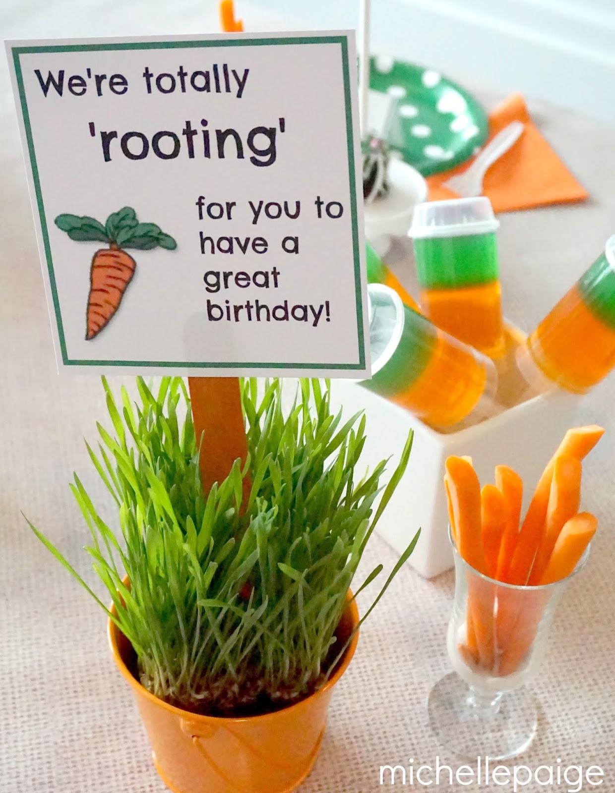 Sainsbury S Cake Decorations Mini Carrots : michelle paige blogs: Mini Easter Pails-- He has risen!
