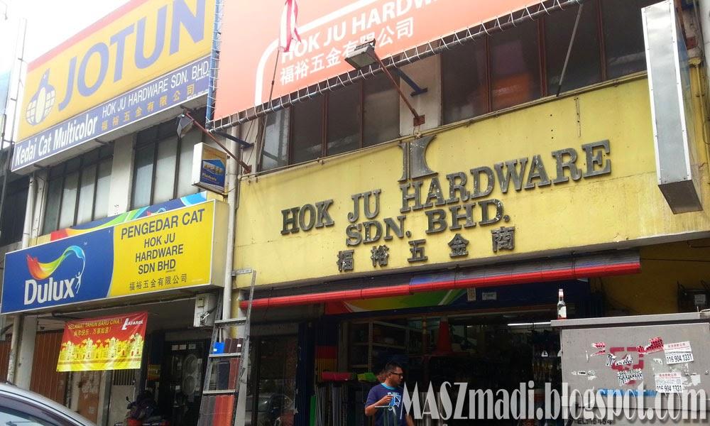 Kami Pegi Kat Satu Kedai Je Hok Ju Hardware Sdn Bhd Ra Dah Kata On The Way Balik Rumah Kan Su Mana Yang Lalu Lah Hihi