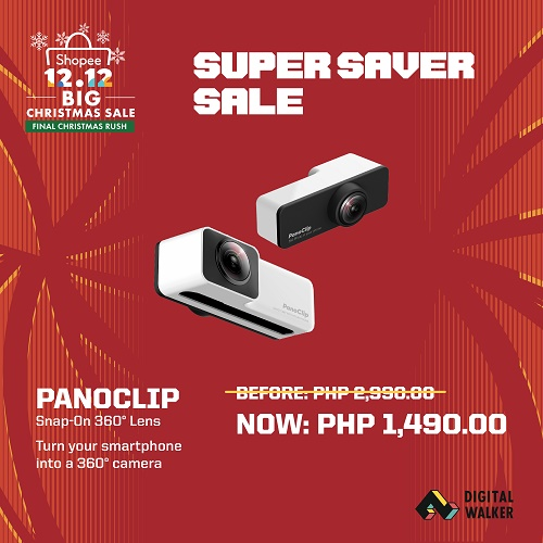 Panoclip Snap On 360 Lens at Php1,490