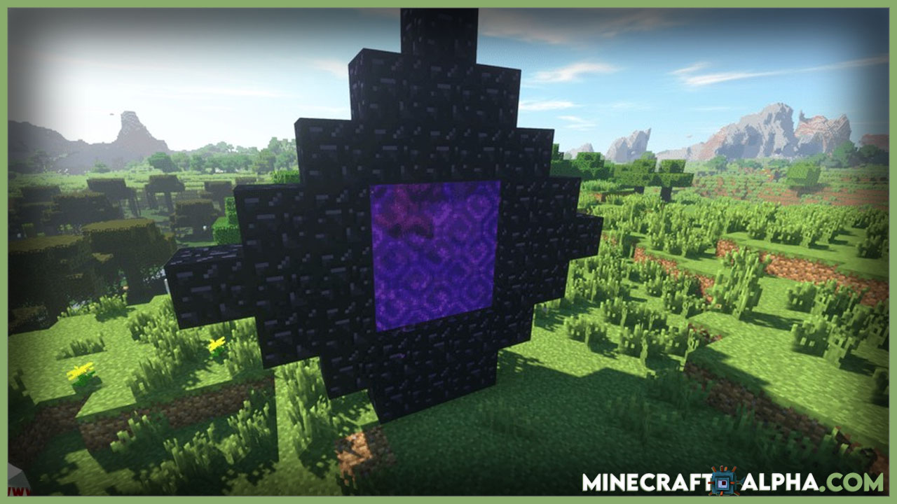 Minecraft Restricted Portals Mod 1.17.1(Stop People Bypassing Early Game)