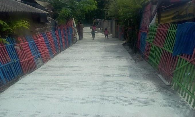 Rampung 100 Persen Dibangun, Warga Kampung Kedung Sentul ucapkan Terima Kasih kepada Pemdes Walikukun