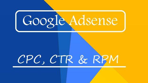 apa itu cpc rpm ctr impression page views dan estimated earnings