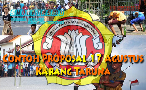 Proposal 17 Agustus Simpel Tema Kegiatan 17 Agustusan