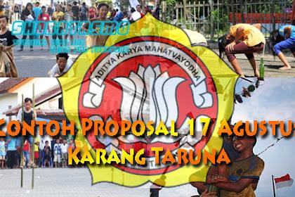 Proposal Keren Untuk Karang Taruna 17 Agustusan