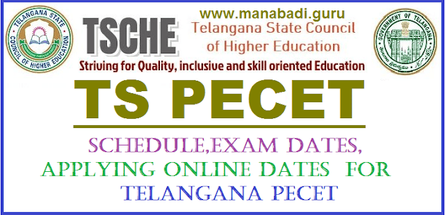 Notification, TS Notifications, TS CETs, Entrance Test, TS PECT, UG DPEd, BPEd, CETs, TG State, TGCET, TS Entrance tess