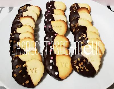 galletas, meriendas, san valentin, desayuno, chocolate,