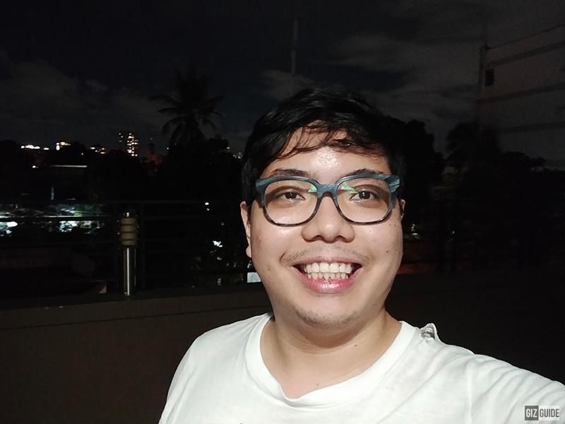 realme 7i selfie low light