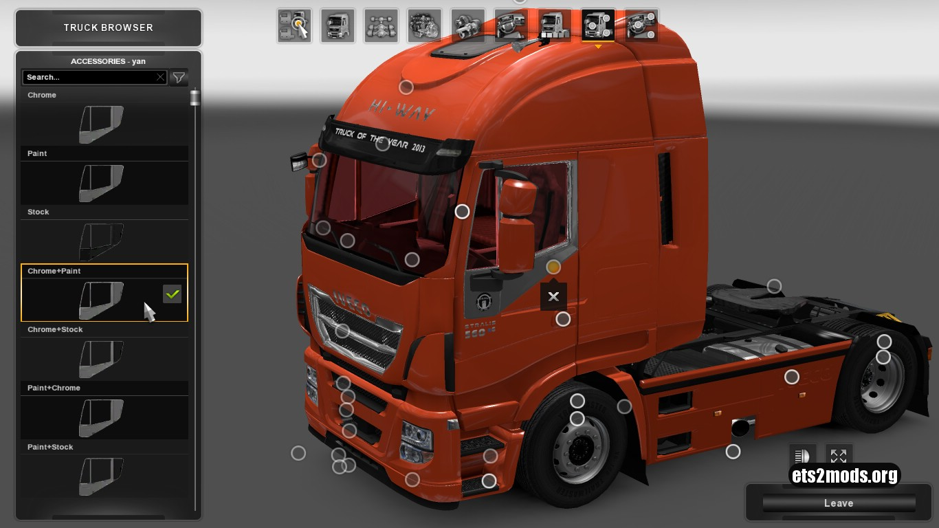 Iveco Hiway With Accessories V 0.3