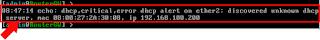 Deteksi rouge DHCP