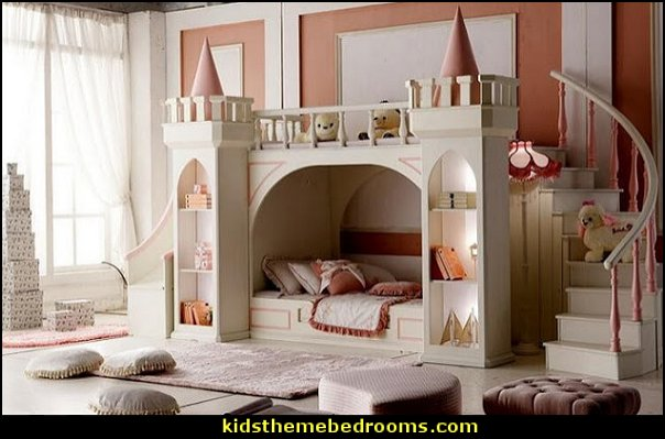 Princess Castle Bunk Bed princess bedroom furniture princess bedrooms