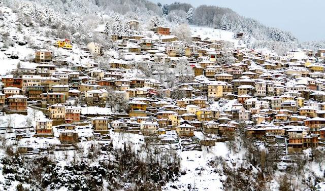 Inverno na Grécia