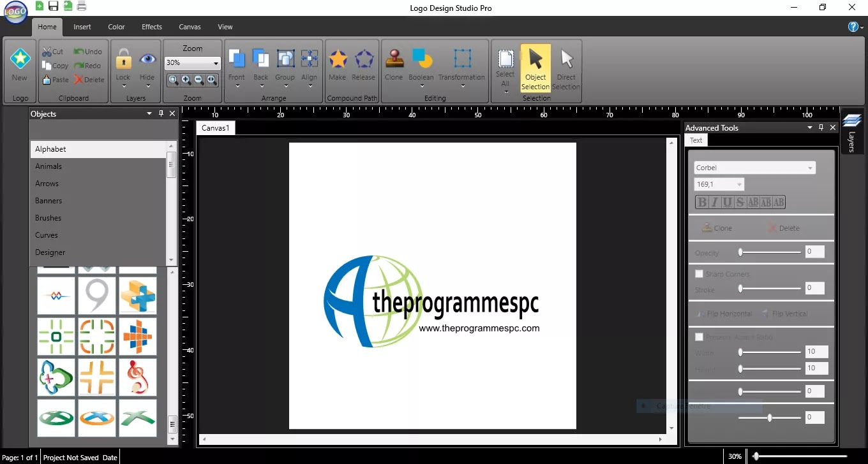 تحميل برنامج Summitsoft Logo Design Studio Pro Platinum 2.0.2.1 لتصميم شعار إحترافي بسهولة