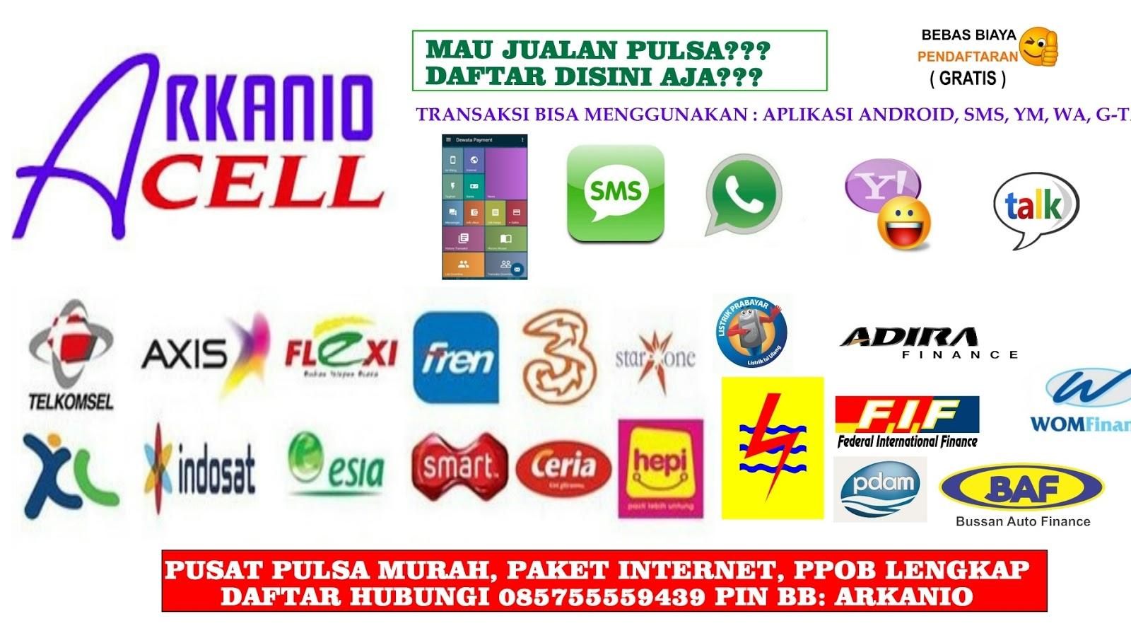 Image Result For Pulsa All Operator Di Ix Koto