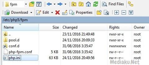 Ubah Ukuran Import phpMyAdmin Di VestaCP