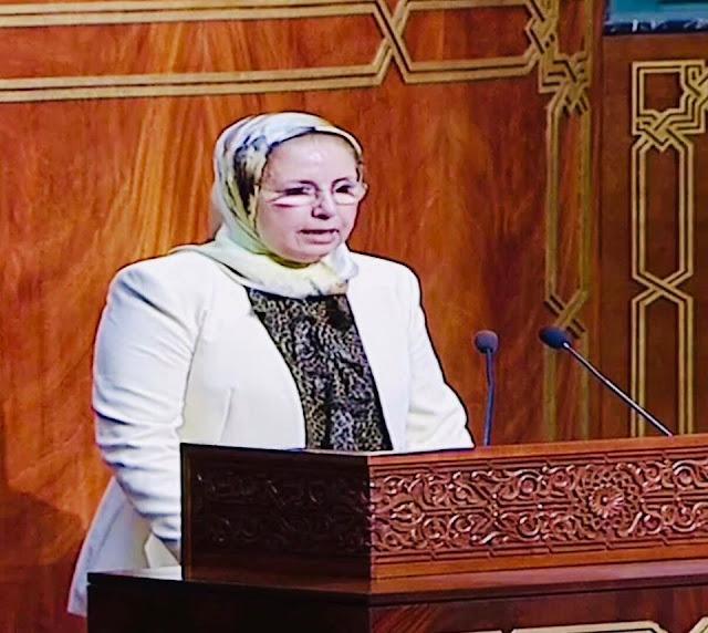 هذا ما قالته ممثلة الإتحاد المغربي للشغل بمجلس المستشارين حول خطة الإقلاع الإقتصادي✍️👇👇👇