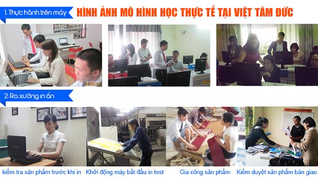Mô hình học đồ họa thực tế tại Việt Tâm Đức