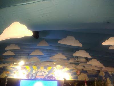Desain Interior Menarik di Kampung Langit