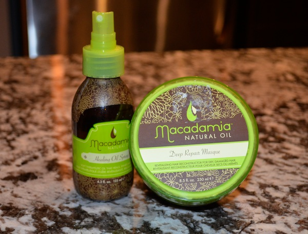 macadamia deep conditioner and healing oil review