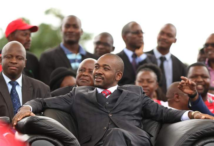 Chamisa Establishes War Veterans Wing