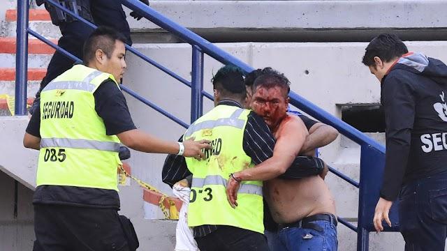 VIOLENCIA, CAOS Y VERGUENZA EN SAN LUIS