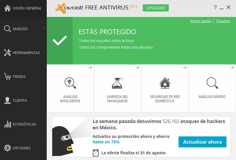 descargar avast free gratis con licencia hasta el 2038