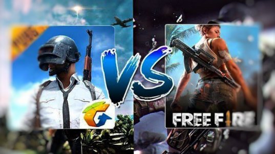 Who beats the other. Comparison between PUBG MOBILE and Free Fire