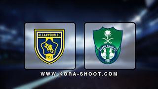 مشاهدة مباراة الأهلي السعودي والتعاون بث مباشر 18-10-2019 الدوري السعودي