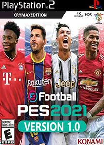 eFootball Pro Evolution Soccer 2021 Ps2 ISO Esp Multi MF