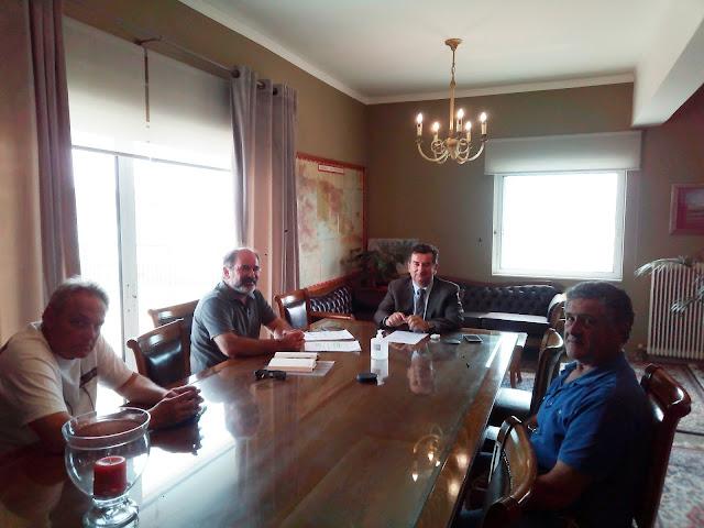 Τι συζήτησε η Ομοσπονδία Επαγγελματιών Βιοτεχνών Εμπόρων Αργολίδας με τον Ι. Μαλτέζο