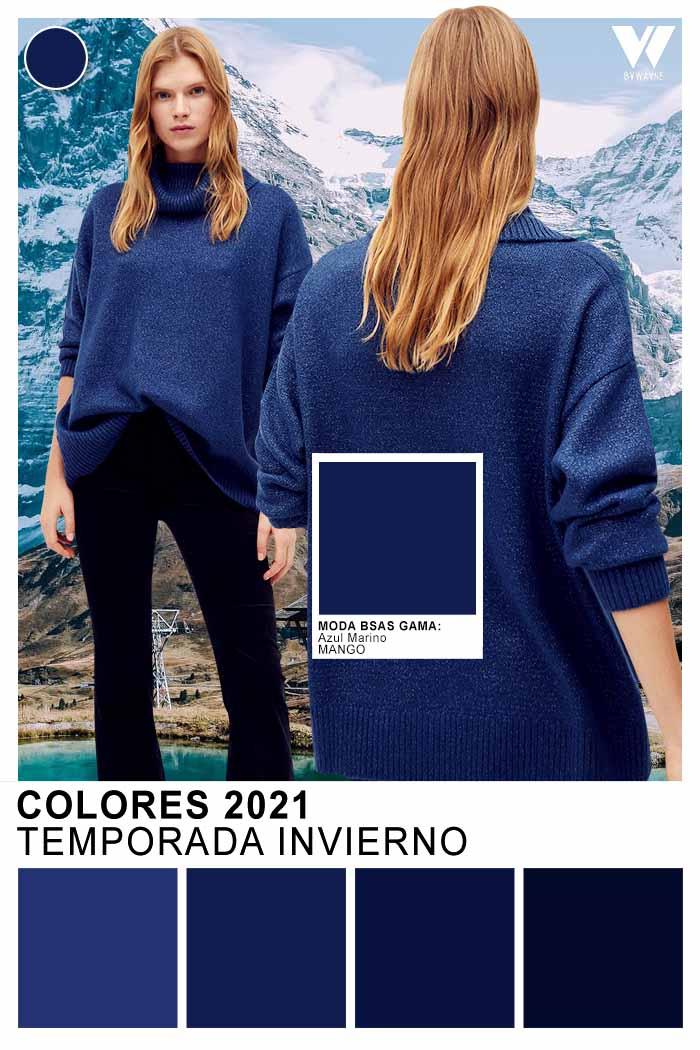 Colores de moda otoño invierno 2021