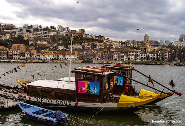 Rabelos, embarcações típicas do Rio Douro